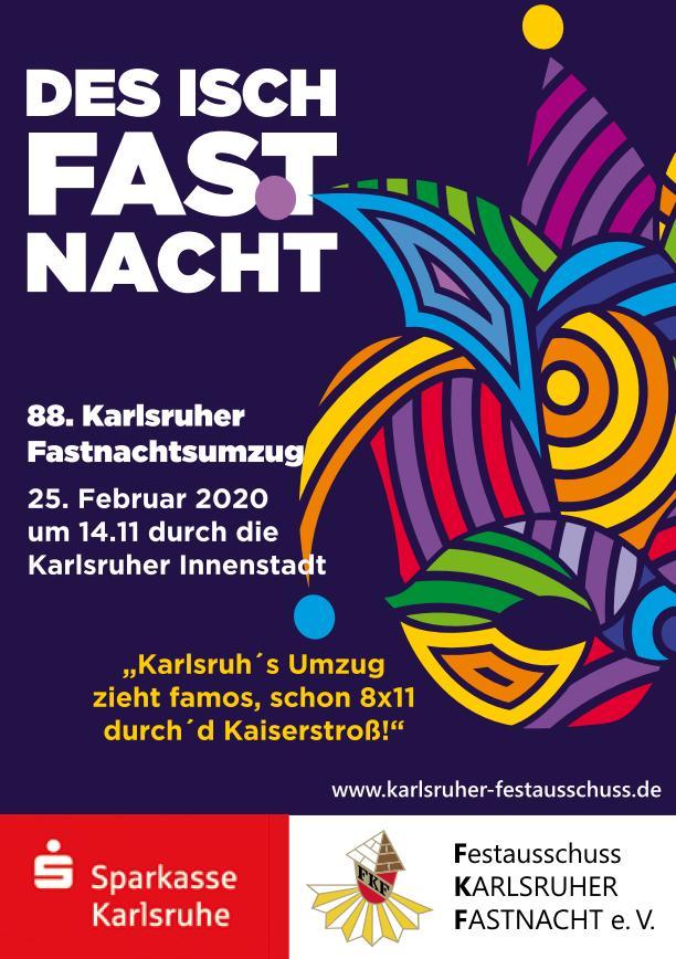Karlsruhe Fastnachtsumzug 2021